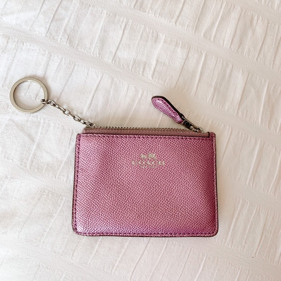 coach mini wallet / card holder